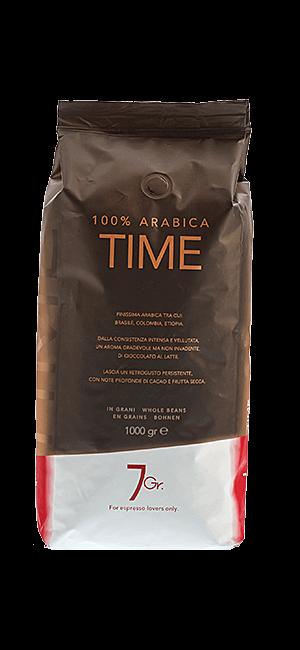 7Gr. Time 100% Arabica 1kg Bohnen