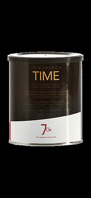 7Gr. Time 100% Arabica 250g Bohnen Dose