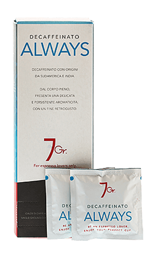 7Gr. Caffe Always Decaffeinato 24 Pads