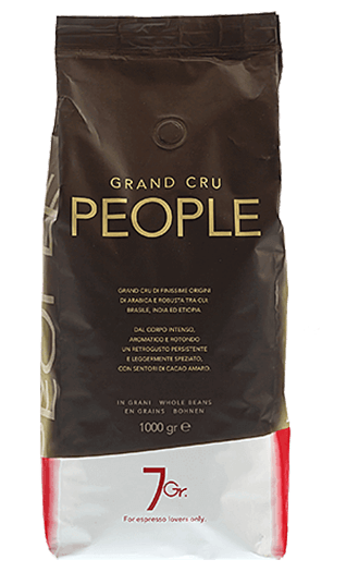 7Gr. Espresso People Grand Cru Bohnen 1kg