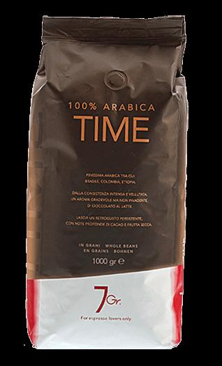 7Gr. Espresso Time 100% Arabica Bohnen 1kg