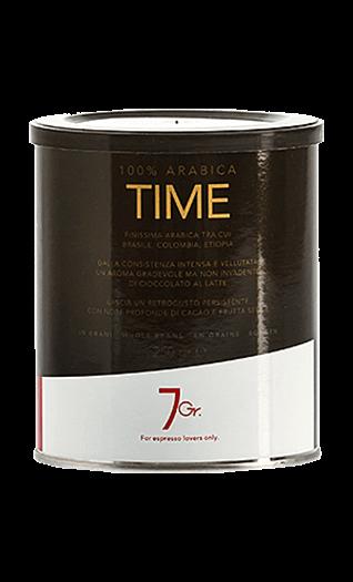 7Gr. Time 100% Arabica Bohnen 250g Dose