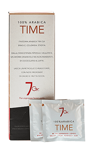 7Gr. Time 100% Arabica 24 Pads
