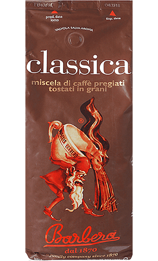 Barbera Caffe Classica 1000g Bohnen