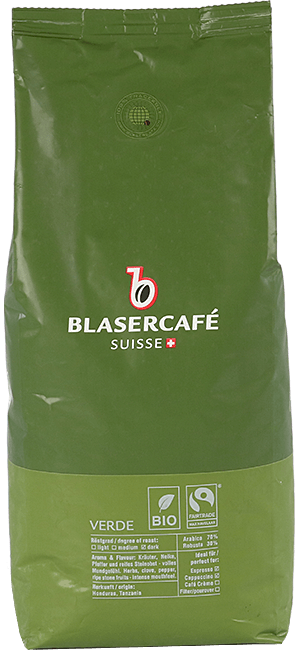 Blaser Cafe Verde BIO Fairtrade Bohnen 1kg