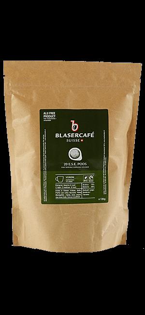 Blaser Cafe Verde BIO Fairtrade E.S.E. Pads 20 Stück