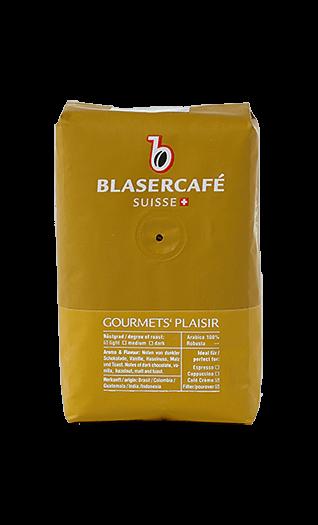 Blaser Kaffee Gourmet's Plaisir Bohnen 250g