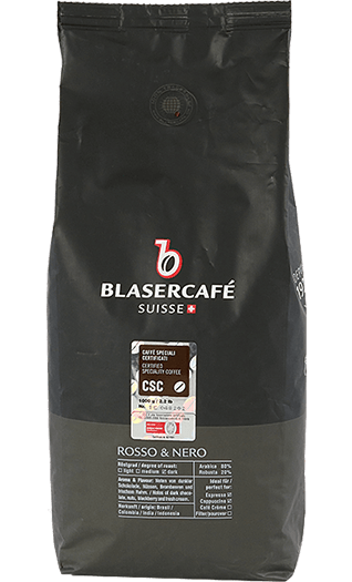 Blaser Kaffee Rosso e Nero CSC Bohnen 1kg