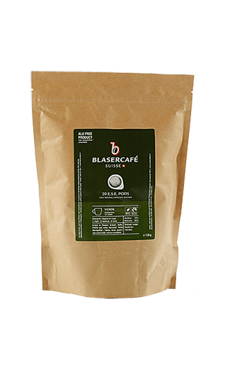 Blaser Kaffee Espresso Verde BIO Fairtrade Pads 20 Stück