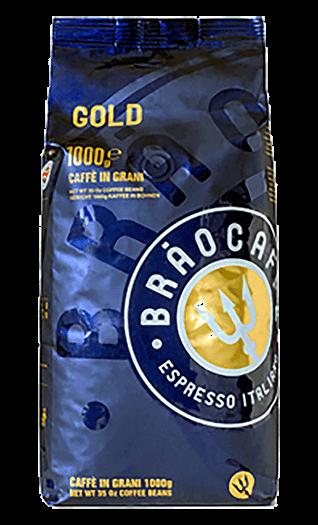 Brao Kaffee Espresso Gold Bohnen 1kg