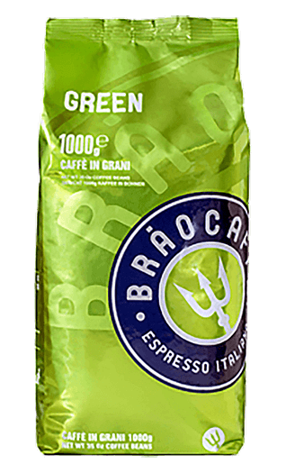 Brao Kaffee Green 1000g Bohnen