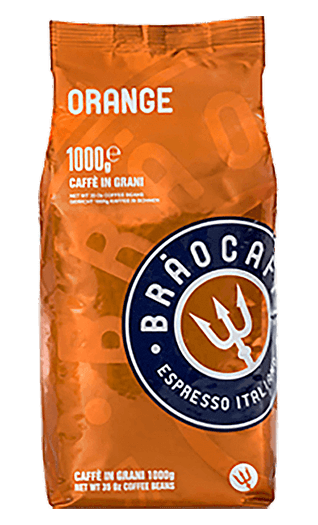 Brao Caffe Orange Bohnen 1kg