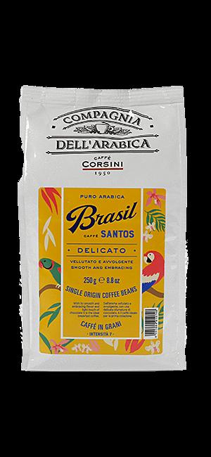 Caffe Corsini Brasil Santos Bohnen 250g