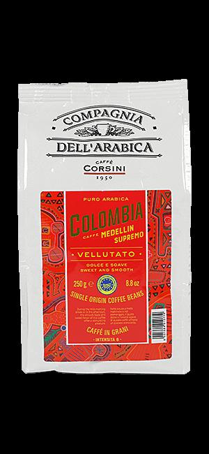 Caffe Corsini Colombia Medellin 250g Bohnen