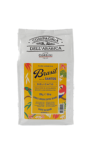 Caffe Corsini Brasil Santos Compagnia Dell'Arabica Bohnen 250g