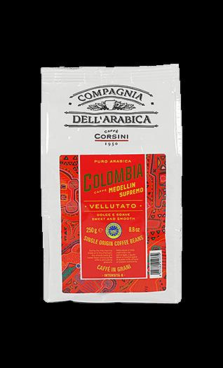 Caffe Corsini Colombia Medellin Bohnen 250g