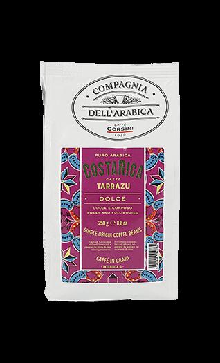 Caffe Corsini Costa Rica Tarrazu Compagnia Dell'Arabica Bohnen 250g