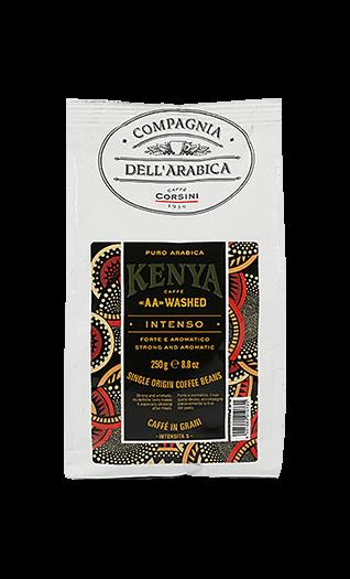 Caffe Corsini Kenya AA-washed Compagnia Dell'Arabica Bohnen 250g