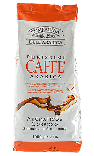 Caffe Corsini Kaffee Purissimi 100% Arabica Bohnen 1kg