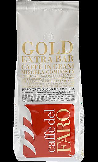 Caffe del Faro Espresso Gold Extra Bar Bohnen 1kg