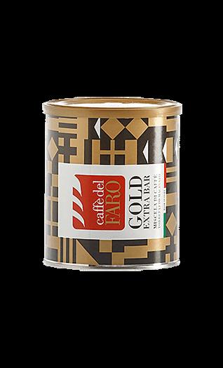 Caffe del Faro Espresso Gold Extra Bar gemahlen 250g Dose