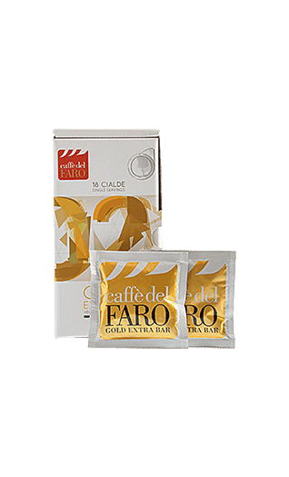 Caffe del Faro Gold Extra Bar 150 Pads
