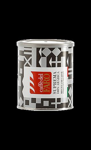 Caffe del Faro Espresso Suprema 100% Arabica gemahlen 250g Dose