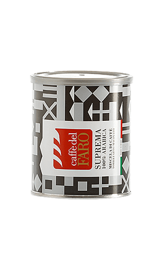 Caffe del Faro Kaffee Suprema 100% Arabica gemahlen 250g Dose