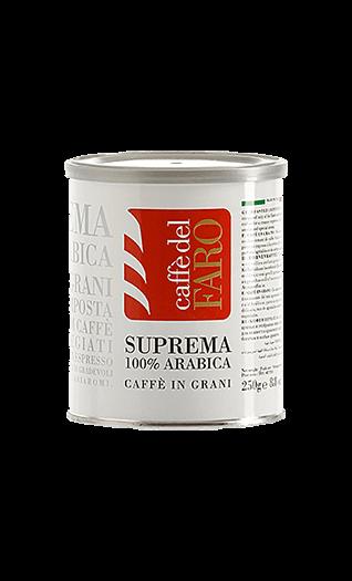 Caffe del Faro Kaffee Suprema 100% Arabica Bohnen 250g Dose