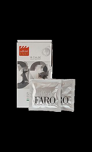 Caffe del Faro Kaffee Suprema 100% Arabica 150 Pads