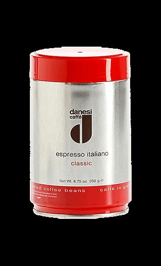 Danesi Kaffee Espresso Classic Bohnen 250g Dose