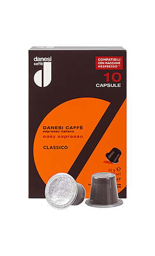 Danesi Caffe Classico Nespresso® kompatibel 10 Kapseln