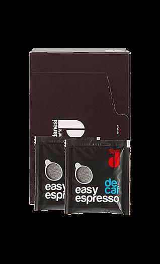 Danesi Kaffee Espresso Easy Espresso Decaffeinato Pads 150 Stück