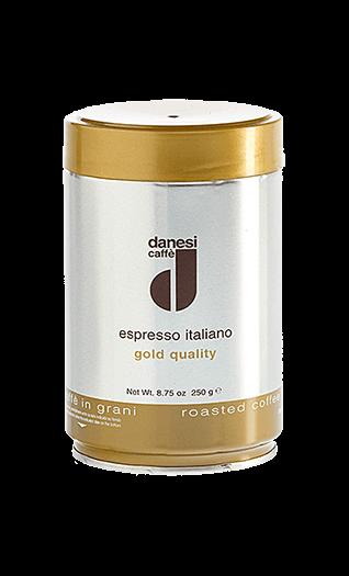 Danesi Kaffee Espresso Oro Bohnen 250g Dose