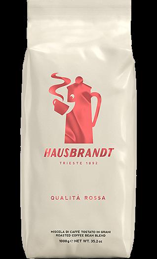 Hausbrandt Kaffee Espresso Qualita Rossa Bohnen 1kg