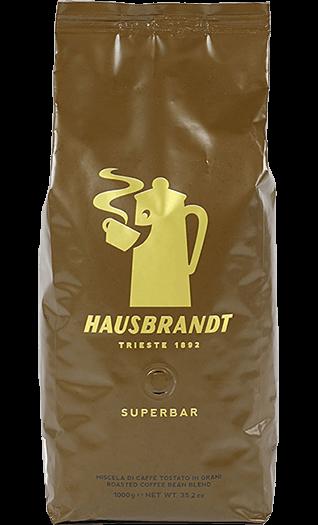 Hausbrandt Kaffee Espresso Superbar Bohnen 1kg