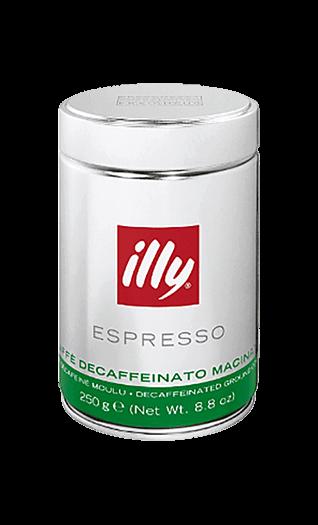Illy Espresso Decaffeinato gemahlen 250g Dose