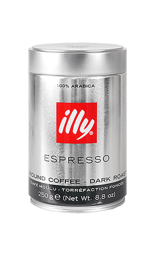 Illy Caffe S gemahlen 250g Dose
