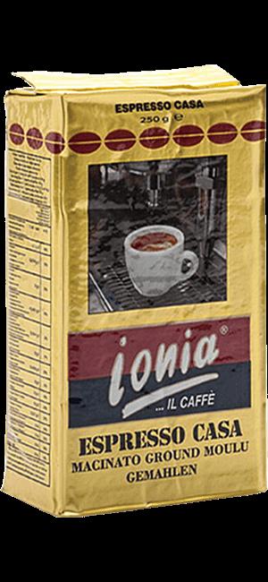 Ionia Espresso Casa 250g gemahlen