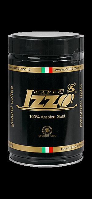 Izzo Arabica Gold gemahlen 250g Dose