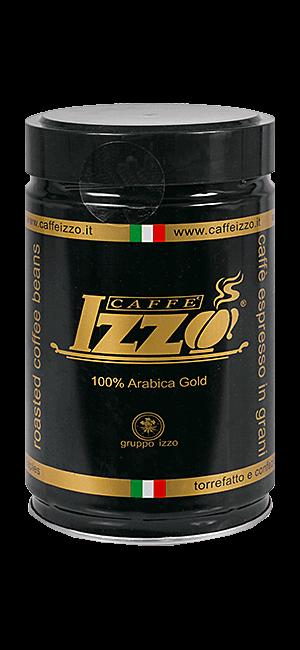 Izzo Arabica Gold 250g Bohnen Dose
