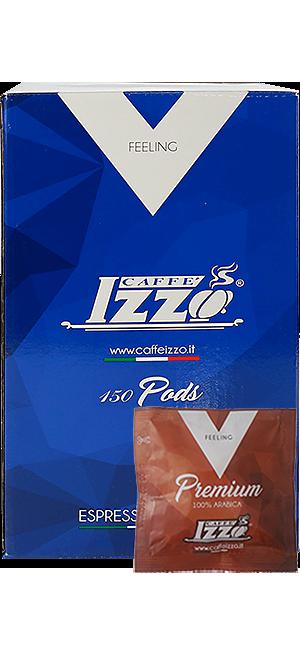 Izzo Arabica Gold E.S.E. Pads 150 Stück