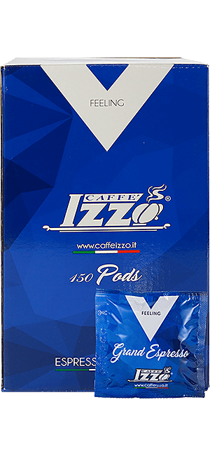 Izzo Napoletano Silver E.S.E. Pads 150 Stück