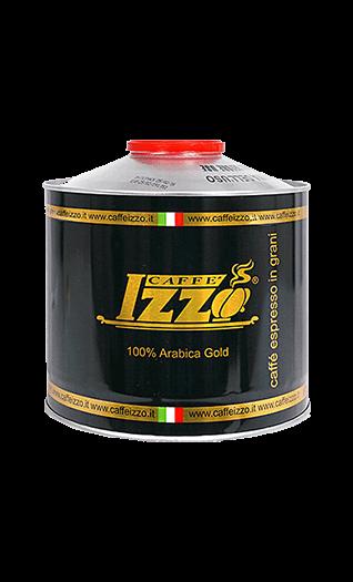 Izzo Caffe Arabica Gold 1000g Bohnen Dose