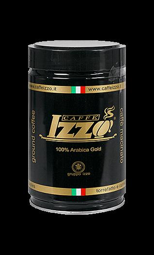 Izzo Caffe Arabica Gold 250g gemahlen Dose