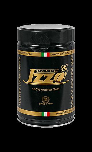 Izzo Kaffee Espresso Arabica Gold Bohnen 250g Dose