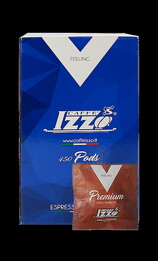 Izzo Caffe Arabica Gold 150 Pads