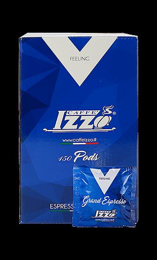 Izzo Espresso Napoletano Silver Pads 150 Stück