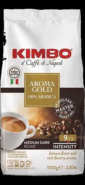 Kimbo Aroma Gold 100% Arabica Bohnen 1kg