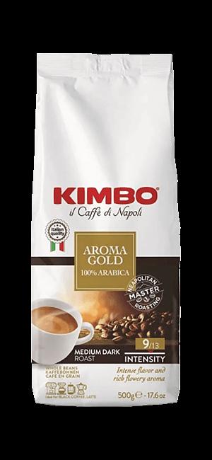 Kimbo Aroma Gold 100% Arabica Bohnen 500g
